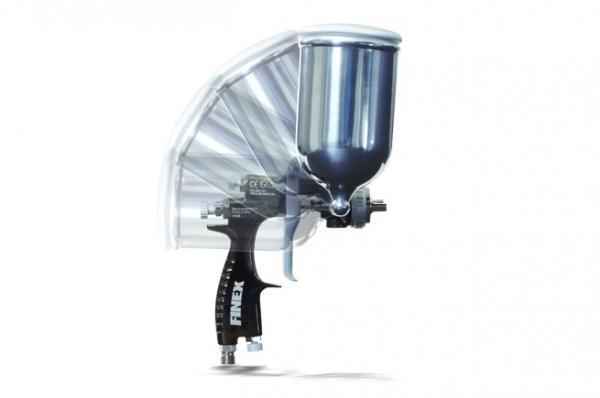 Воздушные распылительные пистолеты Finex с подачей самотеком с боковой крышкой