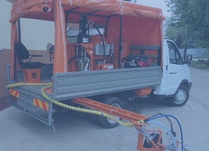 Магистральные машины на шасси грузового автомобиля